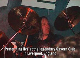 Marty Brasington at the Cavern Club